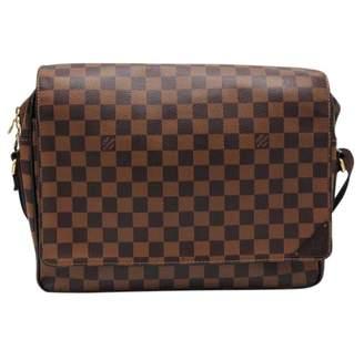 Louis Vuitton Abbesses Messenger Brown Cloth Bags