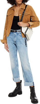 Rag & Bone Rosa Distressed Boyfriend Jeans