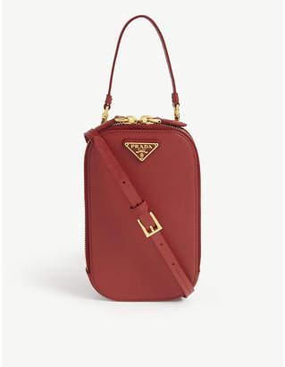 Prada Galleria leather phone cross-body bag