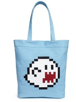 Mostly Heard Rarely Seen 'Haunting You' rubber appliqué tote bag