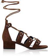 Saint Laurent Women's Babies Gladiator Sandals-BROWN