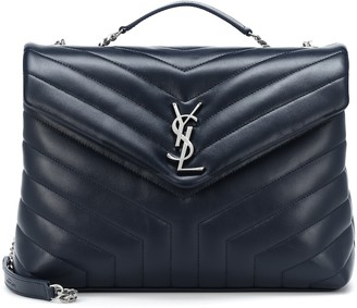 Saint Laurent Loulou Medium leather shoulder bag