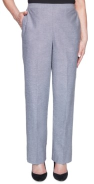Alfred Dunner Petite Bella Vista Pull-On Pants