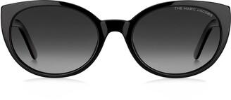 Marc Jacobs 55mm Polarized Gradient Cat Eye Sunglasses