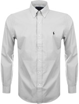 Ralph Lauren Long Sleeved Slim Fit Shirt Grey