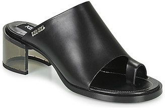 Kenzo K ROUND MID HEELED women's Mules / Casual Shoes in Black