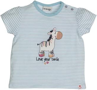 Salt&Pepper Salt and Pepper Baby Girls' B T-Shirt Love Stripe Smile