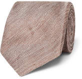 Tom Ford 8cm Linen And Silk-Blend Tie
