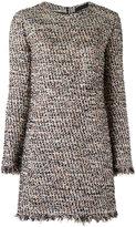 Talie Nk - tweed shift dress - women - Cotton/Acrylic/Polyimide - 36
