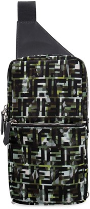 Fendi Nylon One-shoulder Backpack