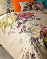Designers Guild Aubriet Fuchsia Queen Duvet