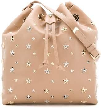 Jimmy Choo star studded bucket bag