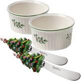 Spode Christmas Tree 4-pc. Ramekin Dipping Set