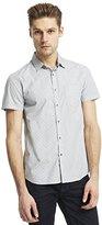 Kenneth Cole New York Kenneth Cole Men's Short Sleeve 1 Pocket Clip Dot