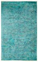 "Solo Rugs Vibrance Overdyed Area Rug, 4'1"" x 6'9"""