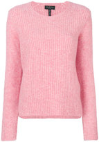 Rag & Bone ribbed detail jumper