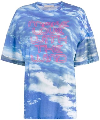 Christopher Kane Make Love with the Wind T-shirt