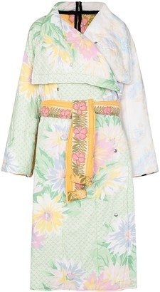 Rave Review Maggan floral-print belted coat