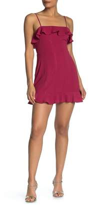 Rowa ROW A Ruffle Mini Dress