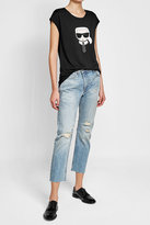 Karl Lagerfeld Printed T-Shirt with Cotton