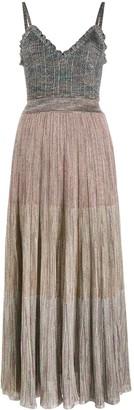 Missoni Tiered Knit Long Dress