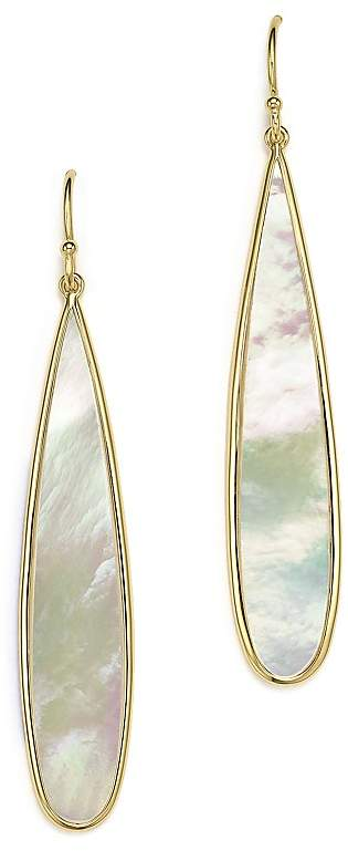 Ippolita 18K Yellow Gold Rock Candy® Drop Earrings with Mother-of-Pearl
