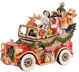Fitz & Floyd Hand Painted Santa Musical Car