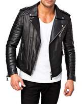 Laverapelle Men's Genuine Lambskin Leather Jacket - 1510073 - Extra Large