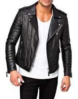 Laverapelle Men's Genuine Lambskin Leather Jacket - 1510073