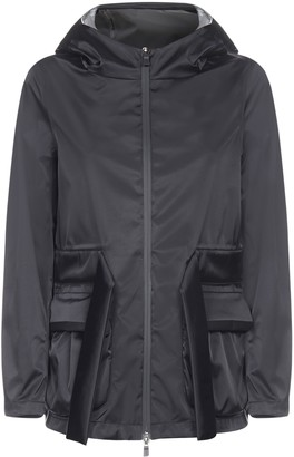 Herno Hooded And Belted Nylon Jacket