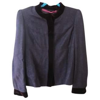 Ungaro Burgundy Cotton Jackets