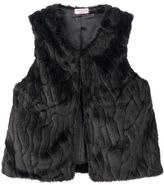 Toddler Girl Design 365 Faux-Fur Vest