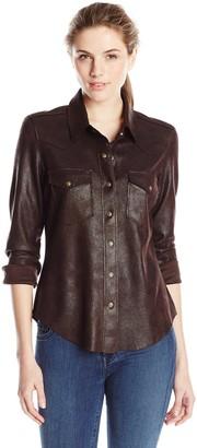 Level 99 Women's Heather Western Shirt