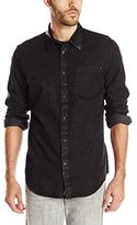 Calvin Klein Jeans Men's Shirt with Leather Collar