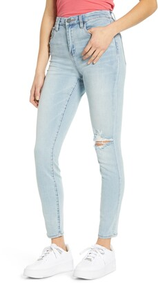 Blank NYC The Great Jones High Waist Ripped Jeans
