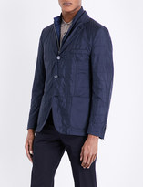 Corneliani Quilted removable-insert shell jacket
