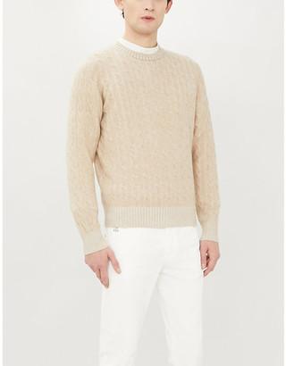 Brunello Cucinelli Crewneck cable-knit cashmere jumper