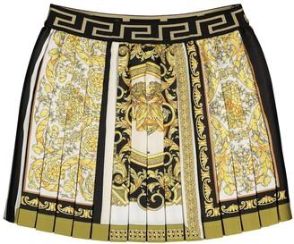 Versace Kids Printed skirt