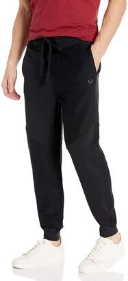True Religion Men's French Terry Slim Leg fit Jogger Sweat Pant