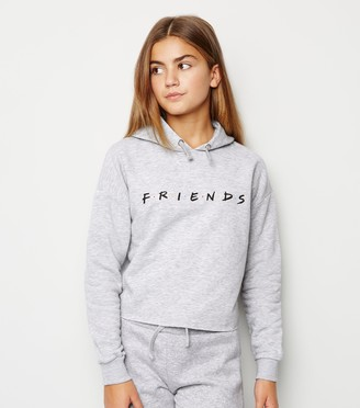 New Look Girls Friends Slogan Hoodie