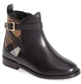 Burberry Toddler Girl's 'Mini Richardson' Leather Boot