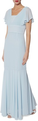 Gina Bacconi Sylvia Chiffon Dress