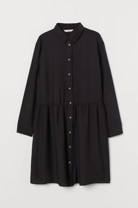 H&M Shirt Dress - Black