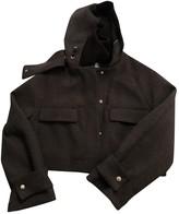 Dondup Grey Wool Jacket for Women