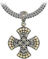John Hardy Women's Dot Two-Tone Maltese Cross Pendant