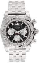 Breitling Chronomat AB011012-B967-375A Stainless Steel & Black Dial 43.5mm Mens Watch