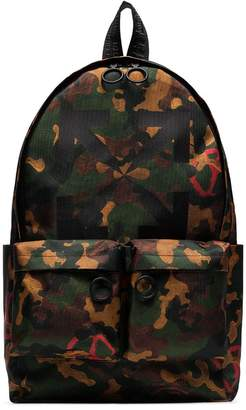 Off-White camouflage-print backpack