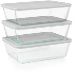 Pyrex Simply Store 6-Pc. Bulk Storage Set