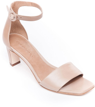 Bernardo Cameron Ankle-Strap Leather Sandals