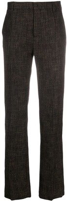 Ports 1961 Check Patterned Pleat Detail Trousers
